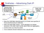sinkholes advertising dark ip