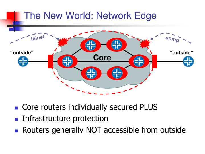 The New World: Network Edge