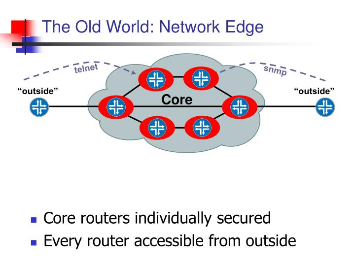 The Old World: Network Edge