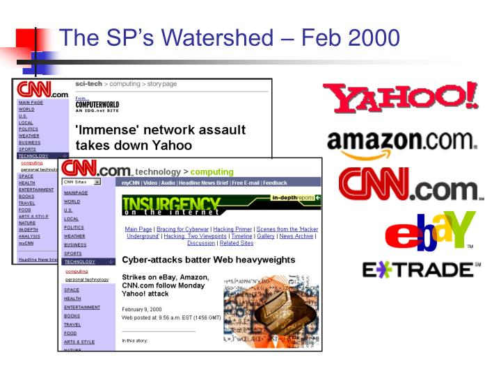 The SP's Watershed – Feb 2000