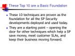these top 10 are a basic foundation