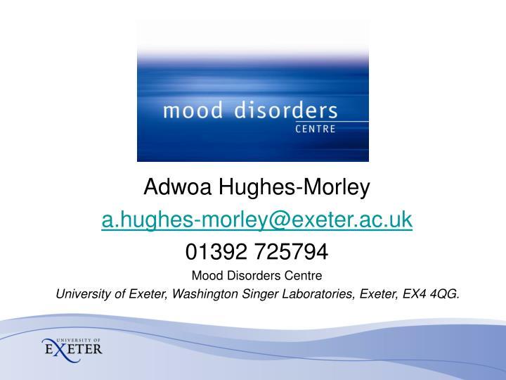 Adwoa Hughes-Morley