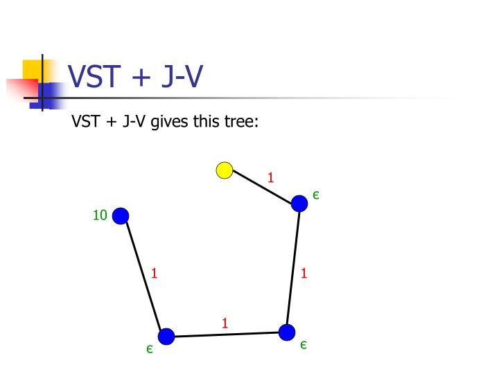 VST + J-V