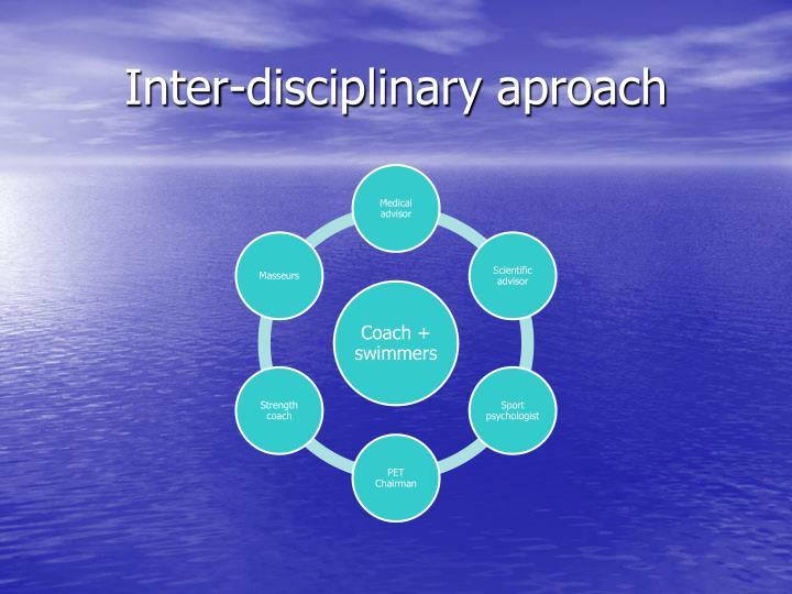 Inter-disciplinary