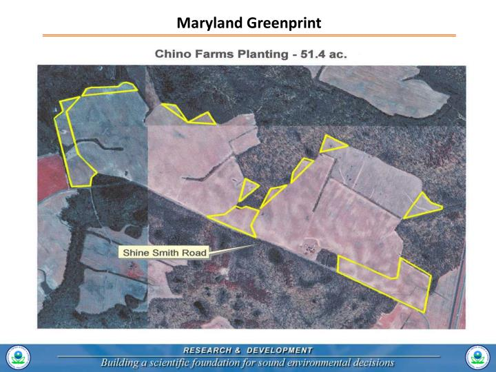 Maryland Greenprint
