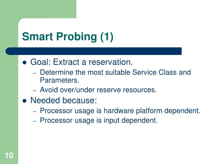 Smart Probing (1)