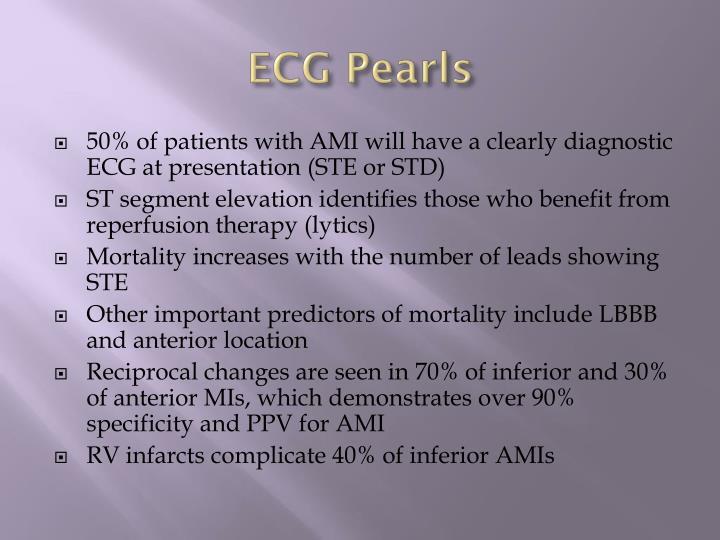 ECG Pearls