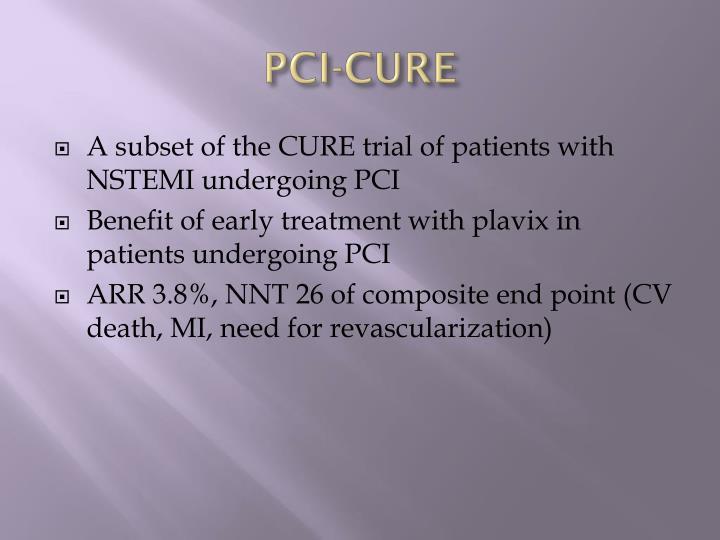 PCI-CURE