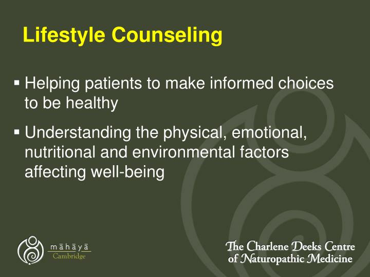 Lifestyle Counseling