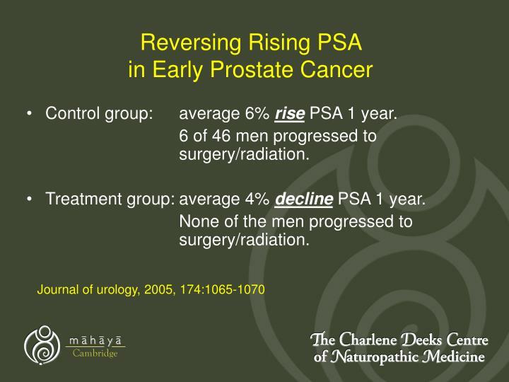 Reversing Rising PSA