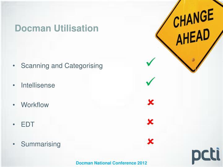 Docman Utilisation