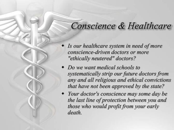Conscience & Healthcare