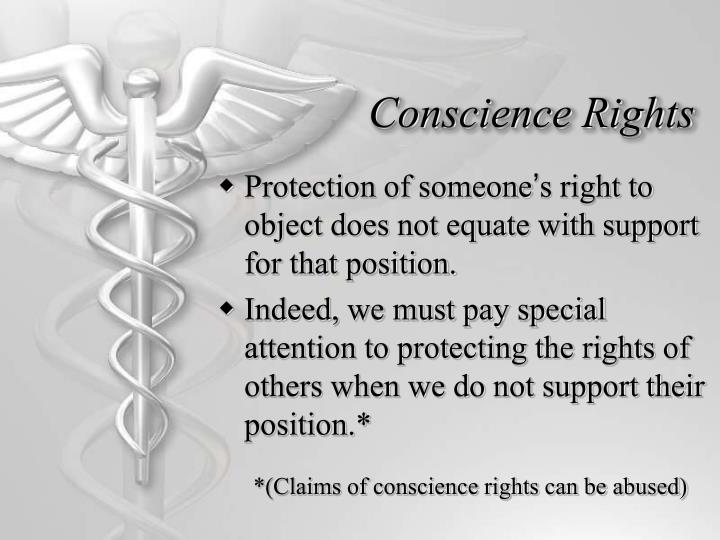 Conscience Rights