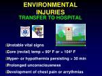 environmental injuries1