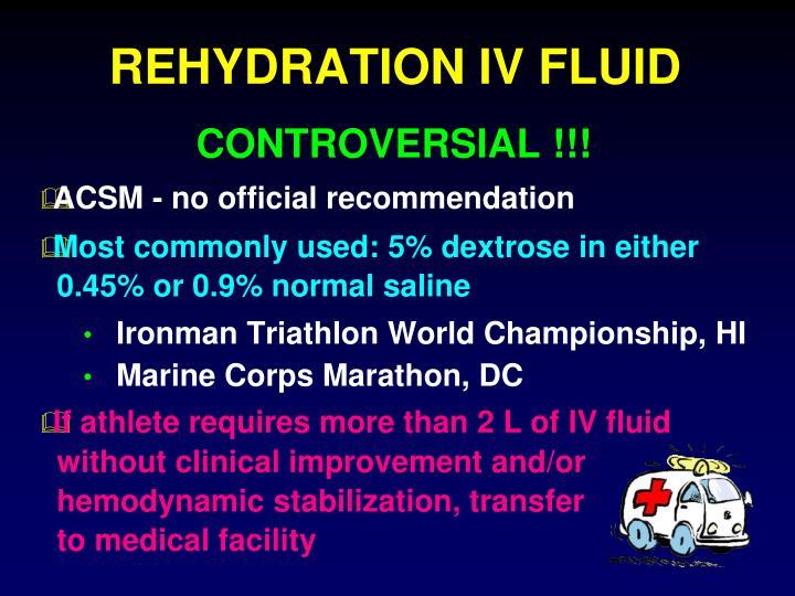 REHYDRATION IV FLUID