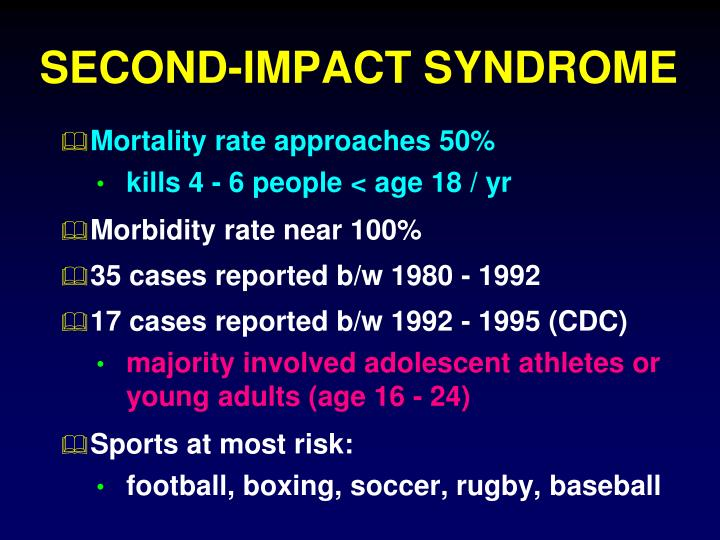 SECOND-IMPACT SYNDROME
