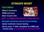 stinger mgmt