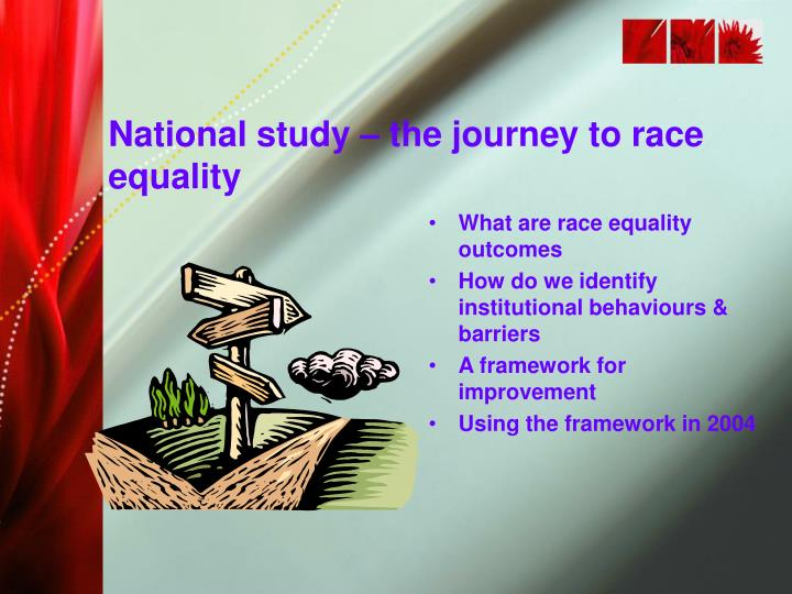 National study – the journey to race equality