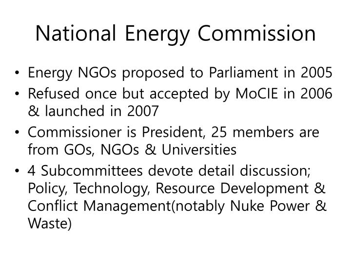 National Energy Commission