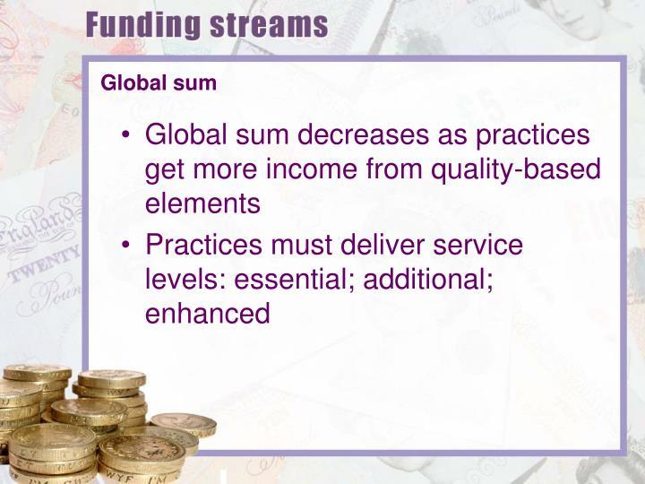 Global sum