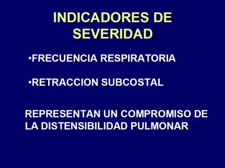INDICADORES DE SEVERIDAD