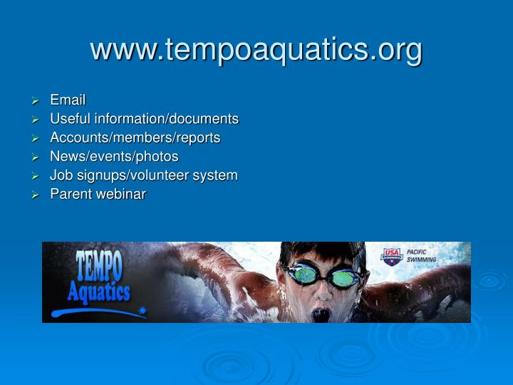 www.tempoaquatics.org