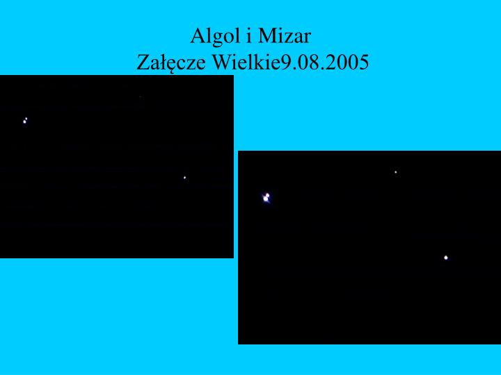 Algol i Mizar