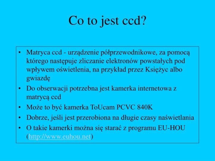 Co to jest ccd?