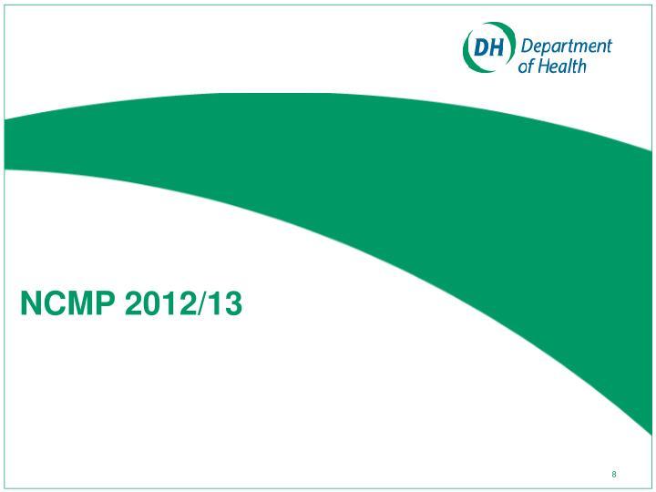 NCMP 2012/13