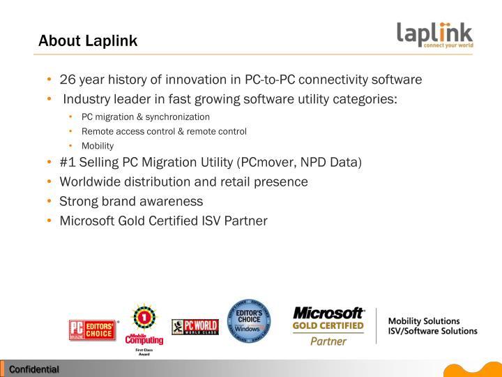 About Laplink