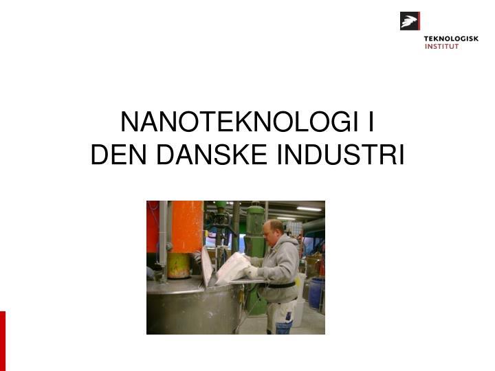 NANOTEKNOLOGI I