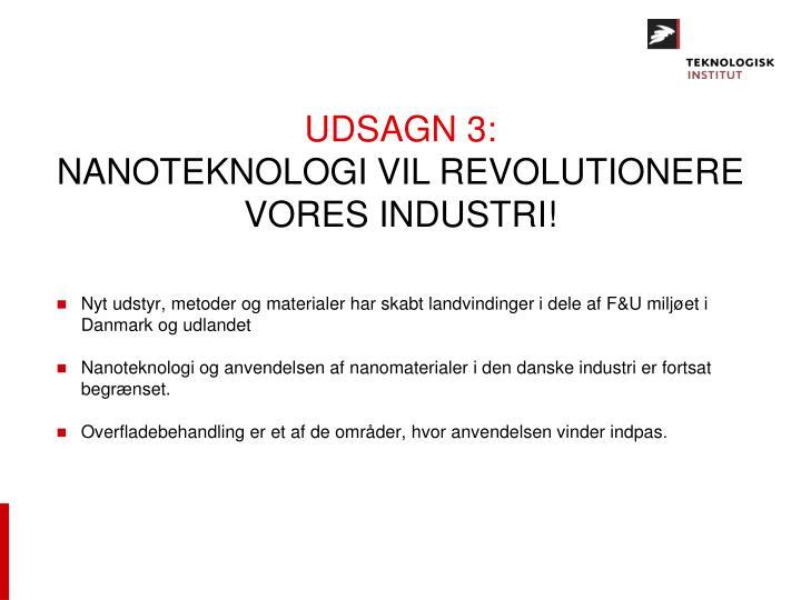 UDSAGN 3: