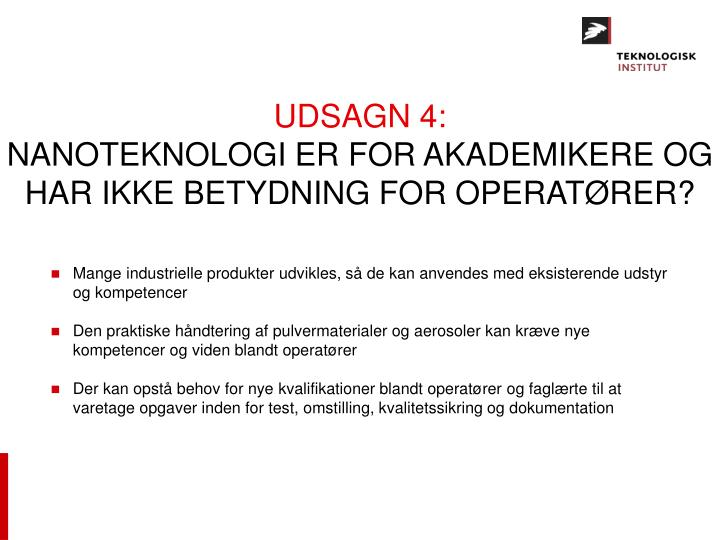 UDSAGN 4: