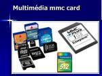 multim dia mmc card