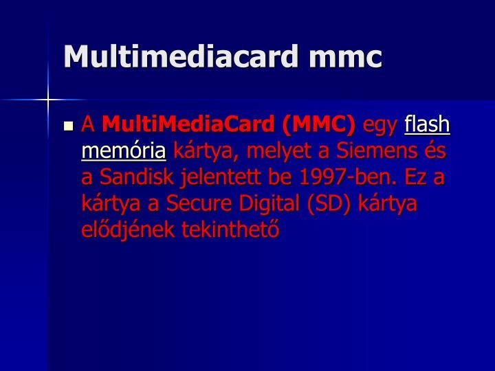 Multimediacard mmc
