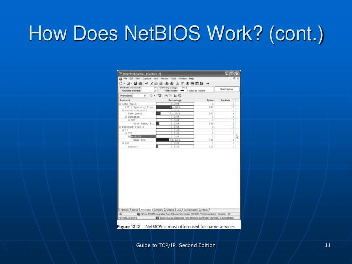 How Does NetBIOS Work? (cont.)