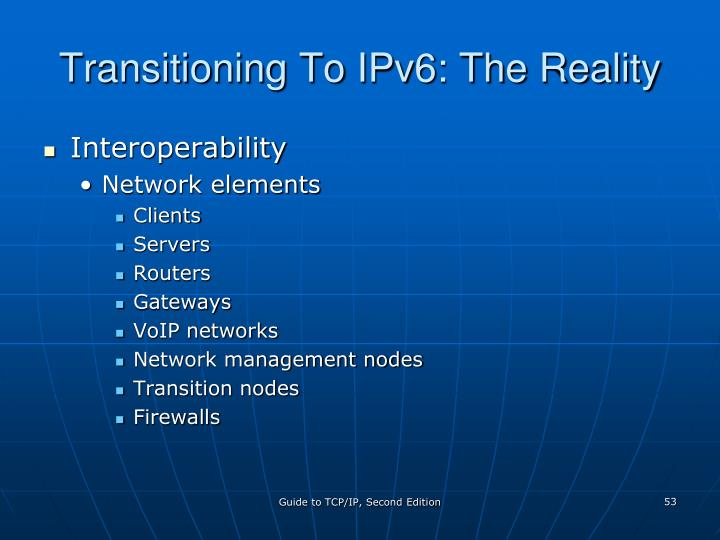 Transitioning To IPv6: The Reality