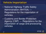 vehicle importation1