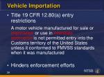 vehicle importation3