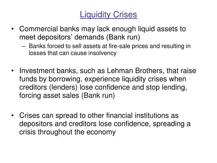 Liquidity Crises