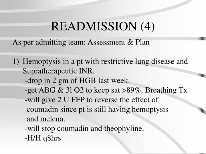 READMISSION (4)