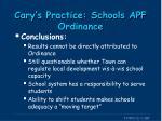 cary s practice schools apf ordinance7