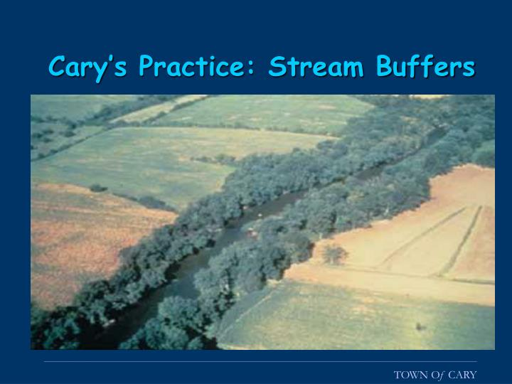 Cary's Practice: Stream Buffers