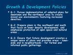 growth development policies