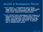 growth development policies1