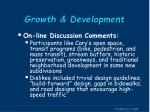 growth development1