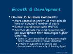 growth development2