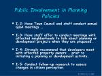 public involvement in planning policies2