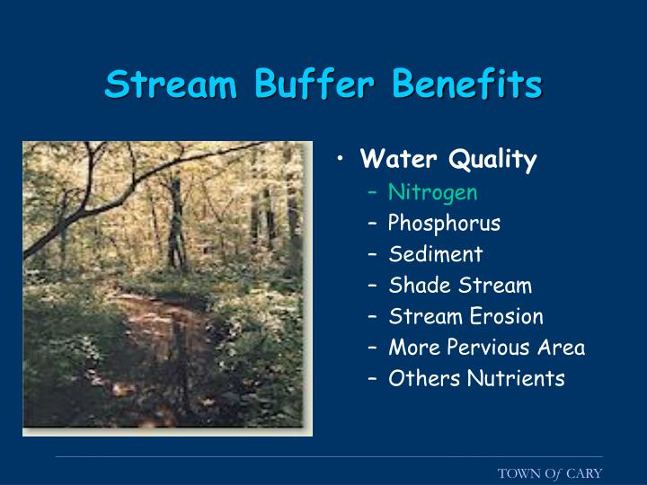 Stream Buffer Benefits
