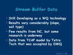 stream buffer data